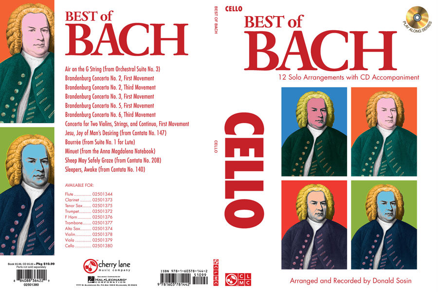 Cherry Lane Best Of Bach Trombone